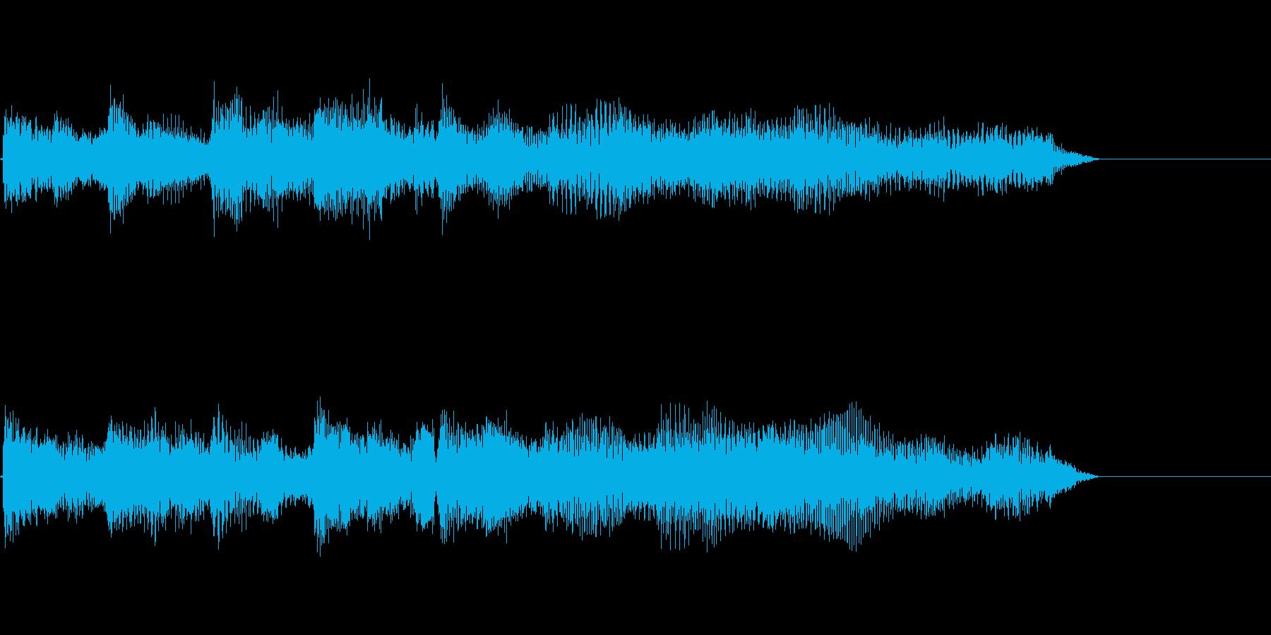 ピアノによるジングル・サウンドロゴ10秒の再生済みの波形