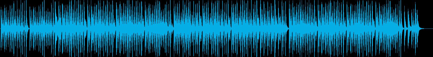 メディアでよく聴くライトアコースティックの再生済みの波形