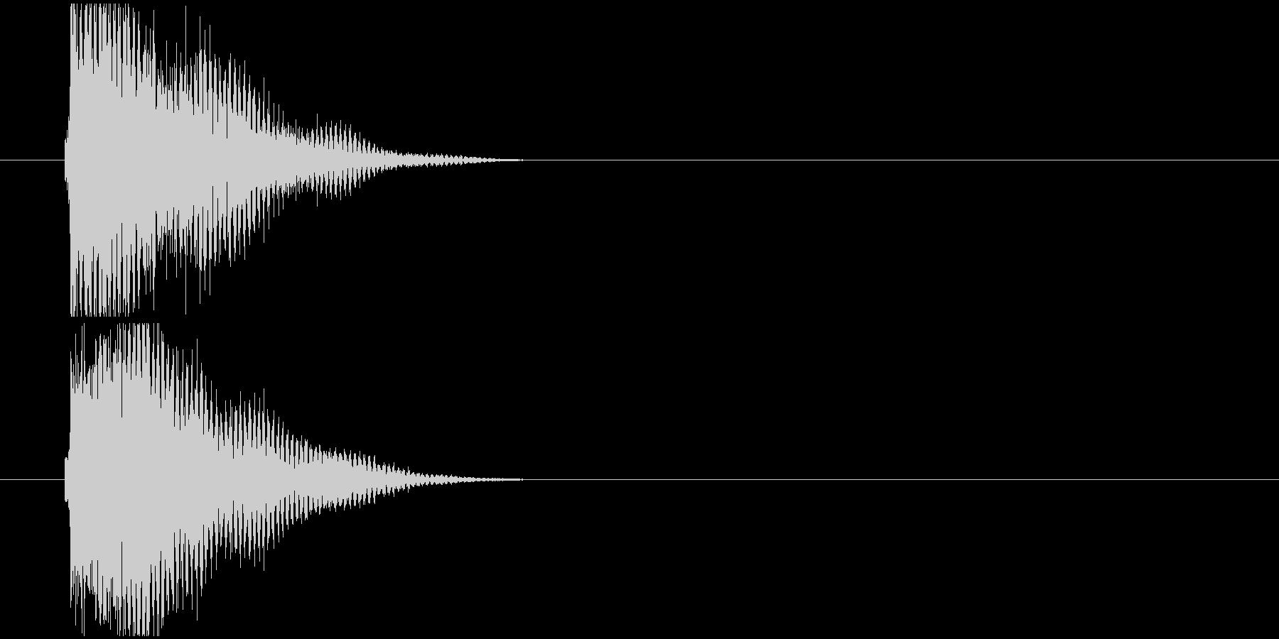 汎用_お知らせ音や決定音の未再生の波形
