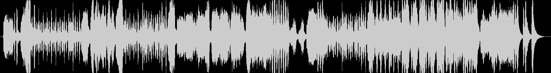 クラリネットがメインの少し可愛らしい曲の未再生の波形