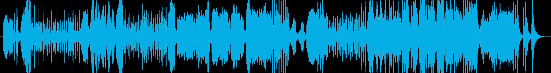 クラリネットがメインの少し可愛らしい曲の再生済みの波形