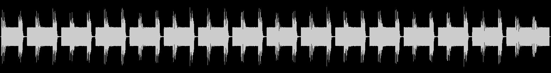 チップチューンの痛快な短いループ1の未再生の波形