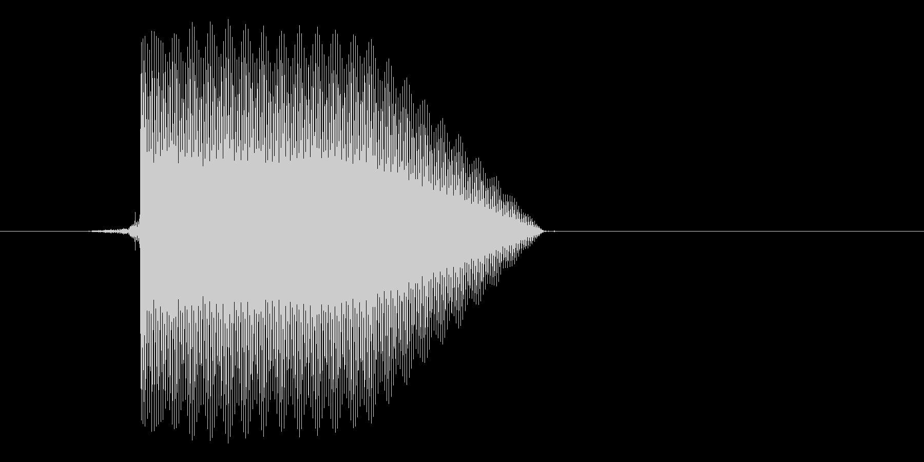 ゲーム(ファミコン風)セレクト音_029の未再生の波形