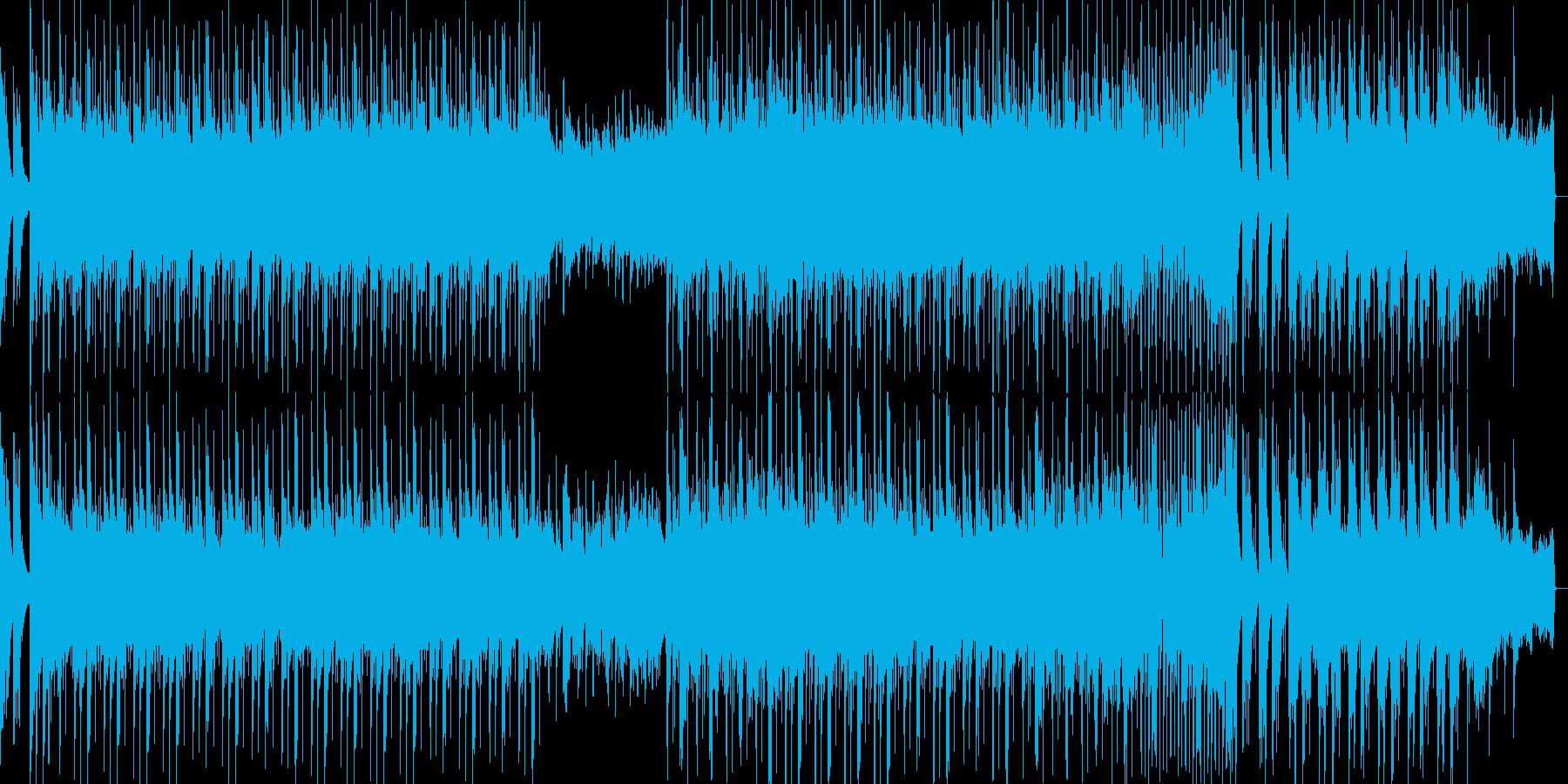 琴和風ポップ春希望夢企業PVオーケストラの再生済みの波形