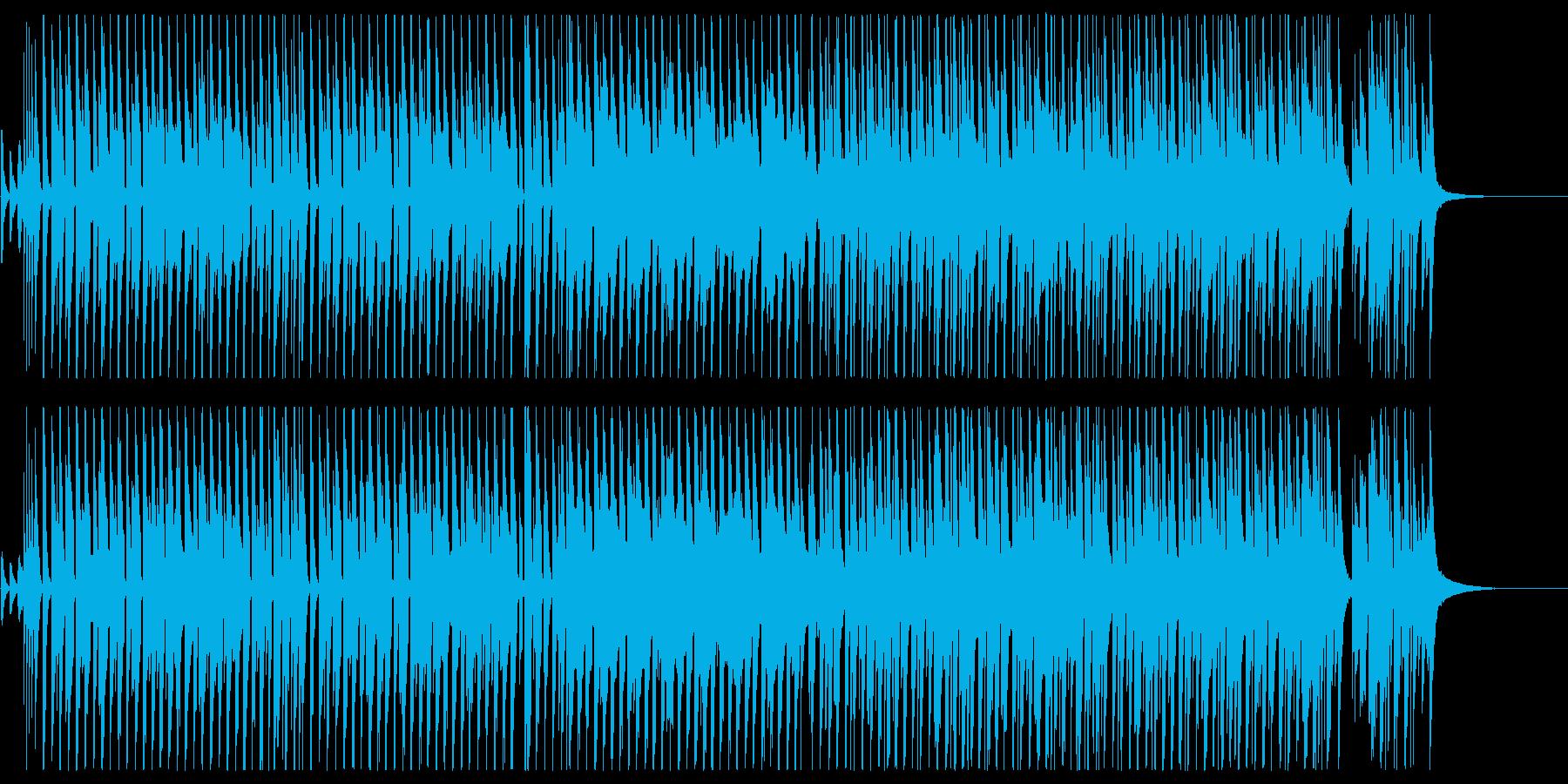 レトロで可愛い雰囲気のポップスの再生済みの波形