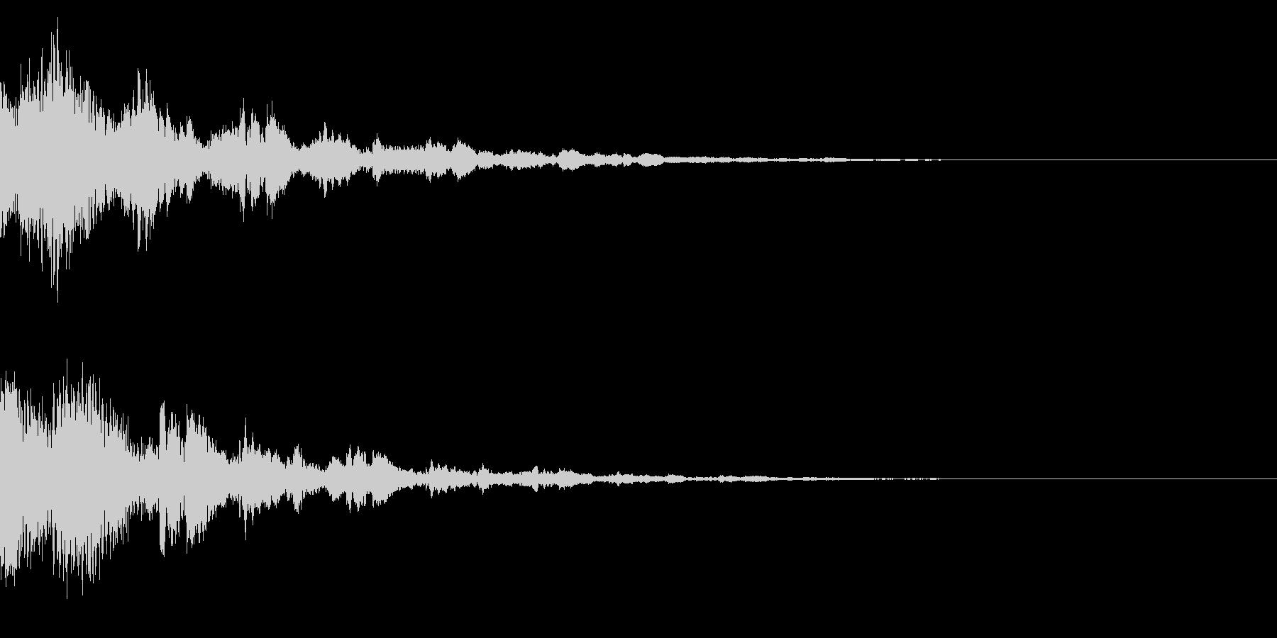 サウンドロゴ34(ベル系)の未再生の波形