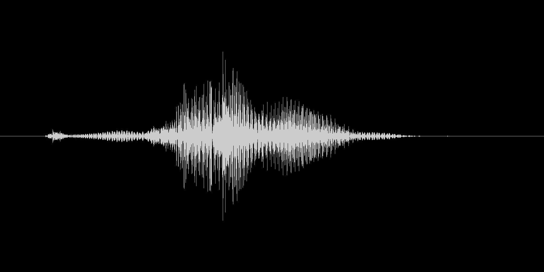 いだっ!(Type-E)の未再生の波形