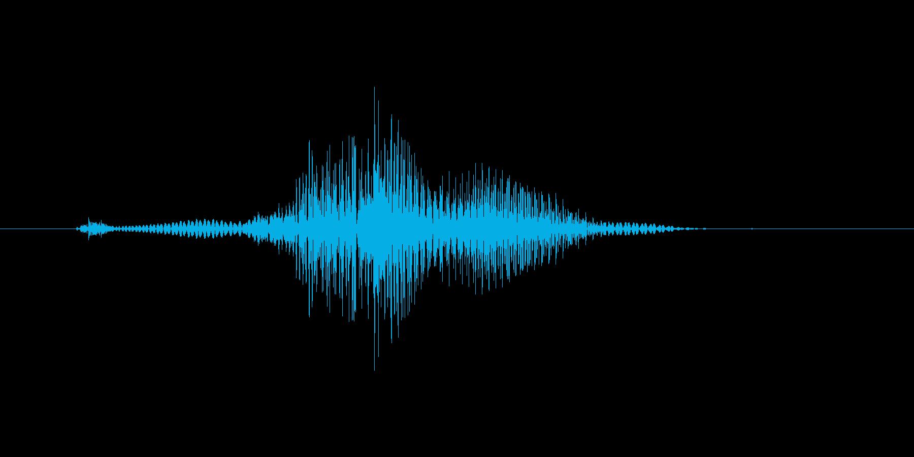 いだっ!(Type-E)の再生済みの波形