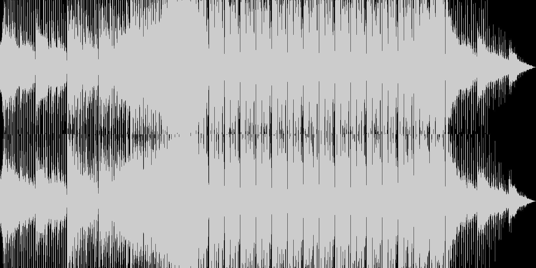 エレクトロポップな可愛いダンスBGMの未再生の波形