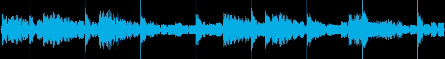 不思議で幻想的なアンビエント系テクノの再生済みの波形