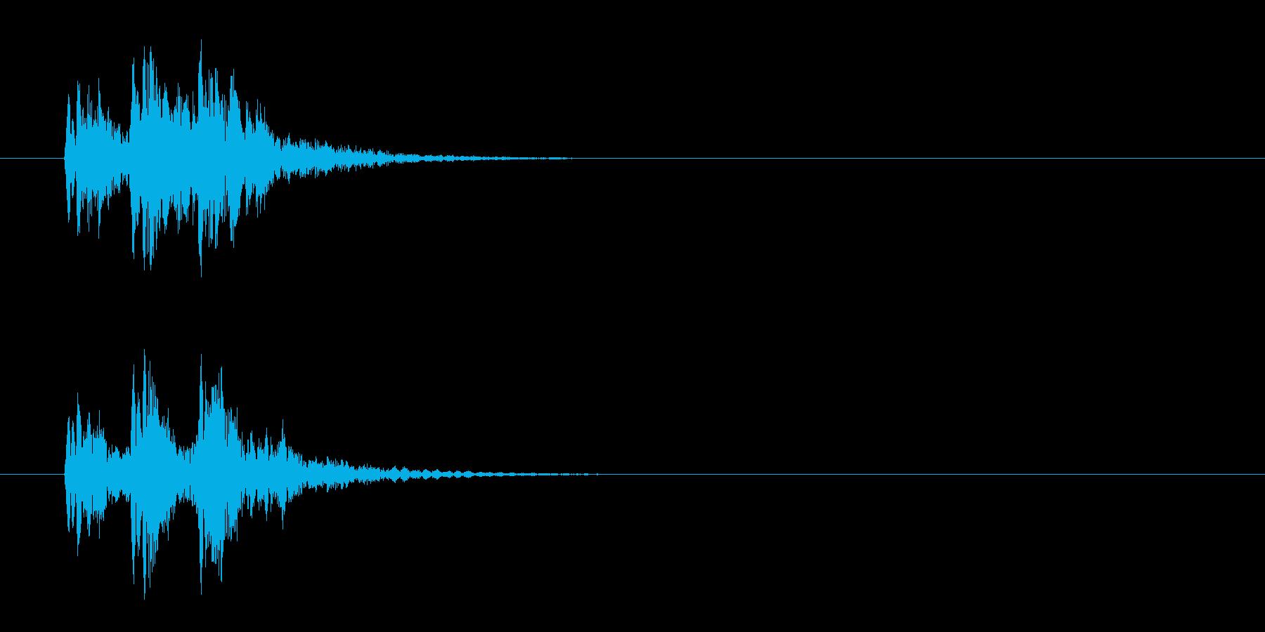 ジングル/水泡・実験(環境)の再生済みの波形