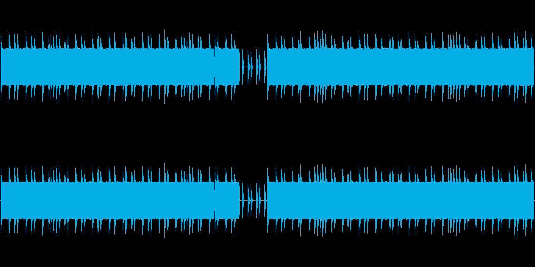 チップチューンの短いジャズループ1の再生済みの波形