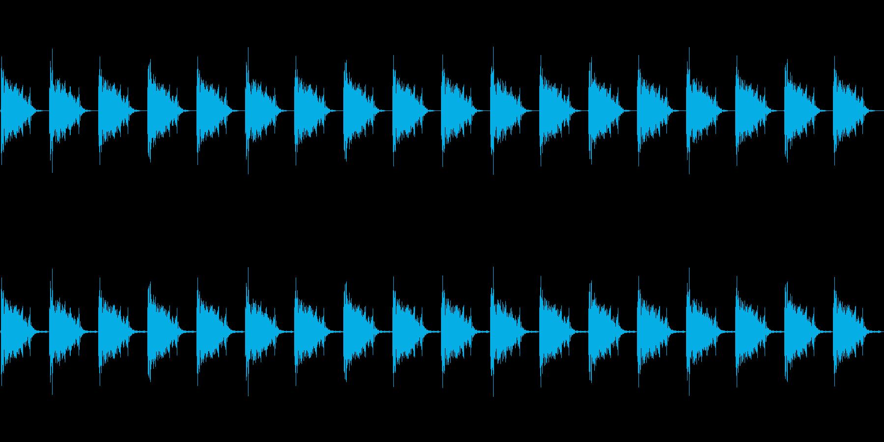 足音 ロボット系 ループも可の再生済みの波形