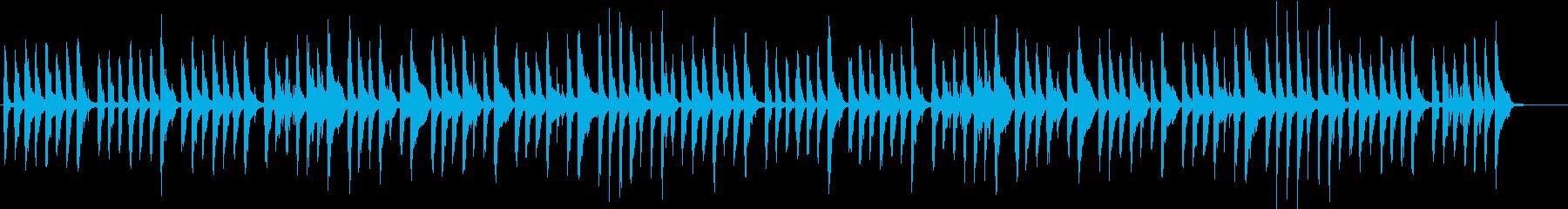 軽快でファニーでコミカルなポップチューンの再生済みの波形