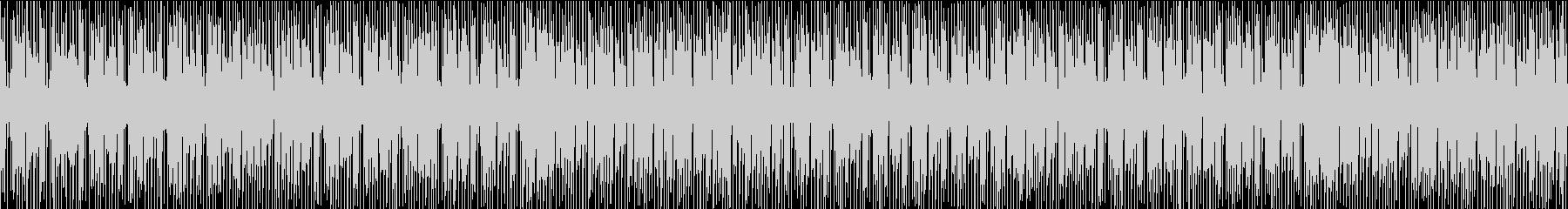 シンセメロディのお洒落なエレクトロポップの未再生の波形