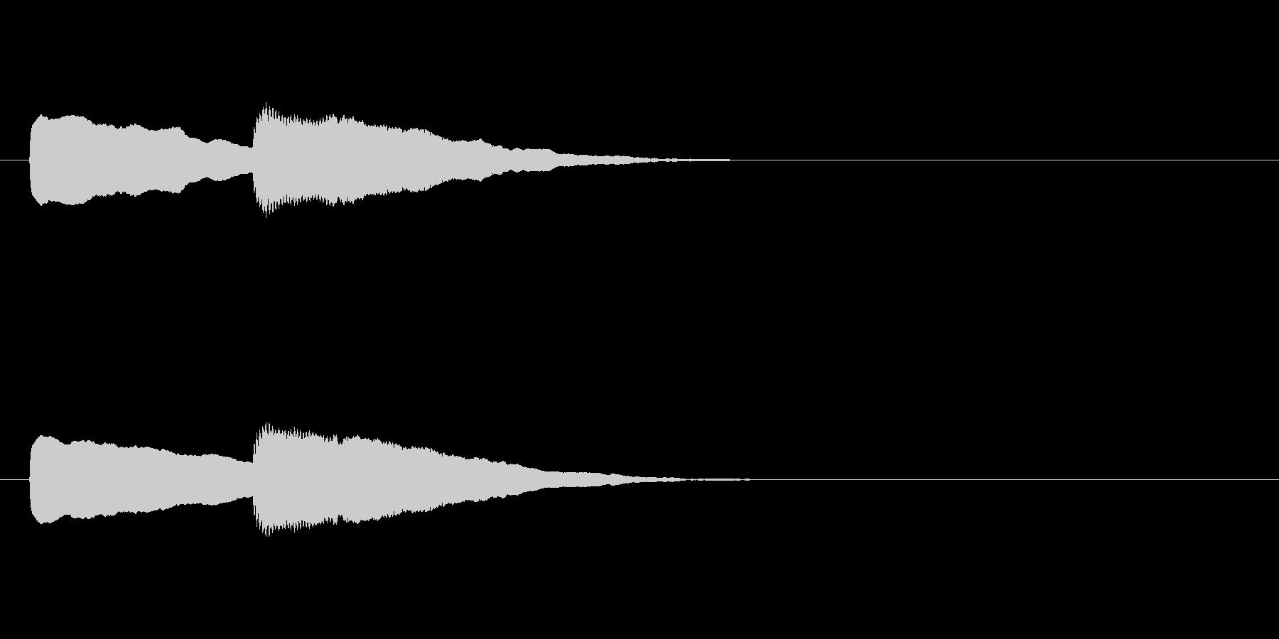 【ショートブリッジ19-2】の未再生の波形