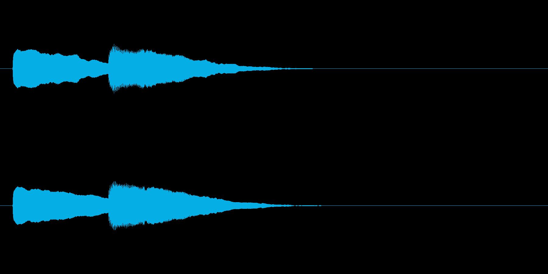 【ショートブリッジ19-2】の再生済みの波形