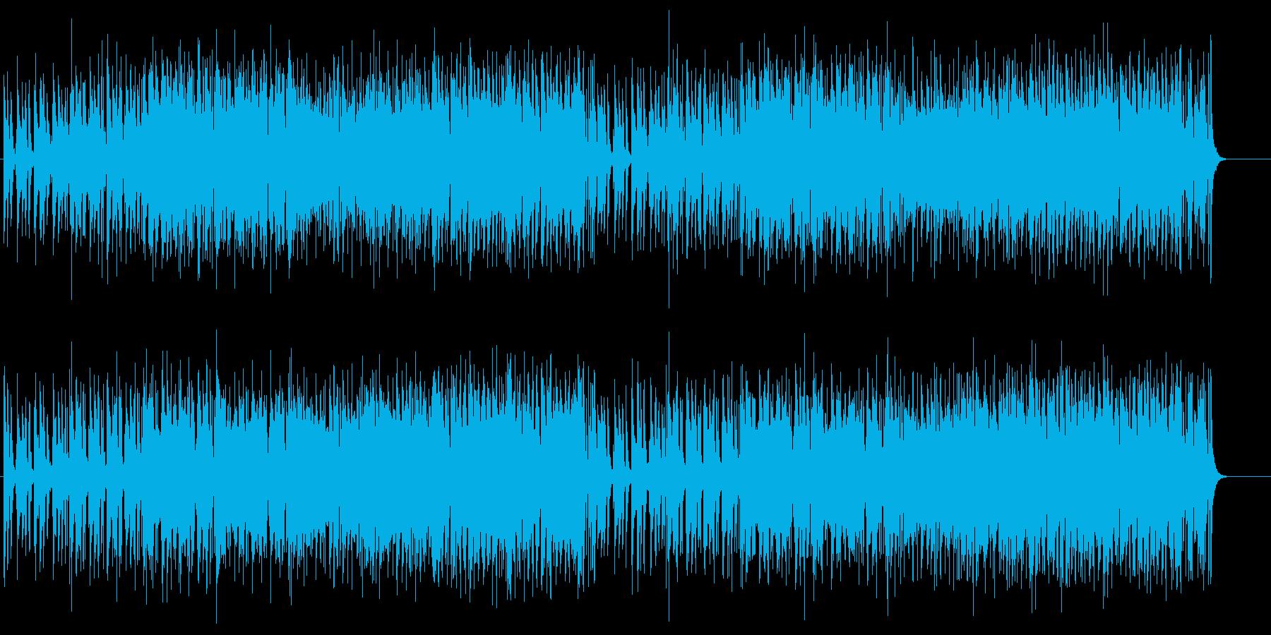 ホーンパートメインのカジュアルなポップスの再生済みの波形