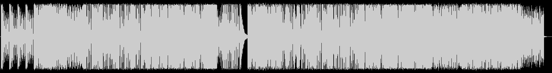 トランス&スラップベースの未再生の波形