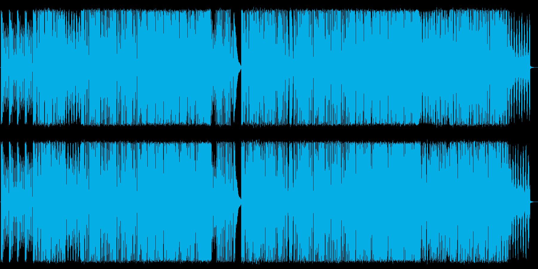 トランス&スラップベースの再生済みの波形