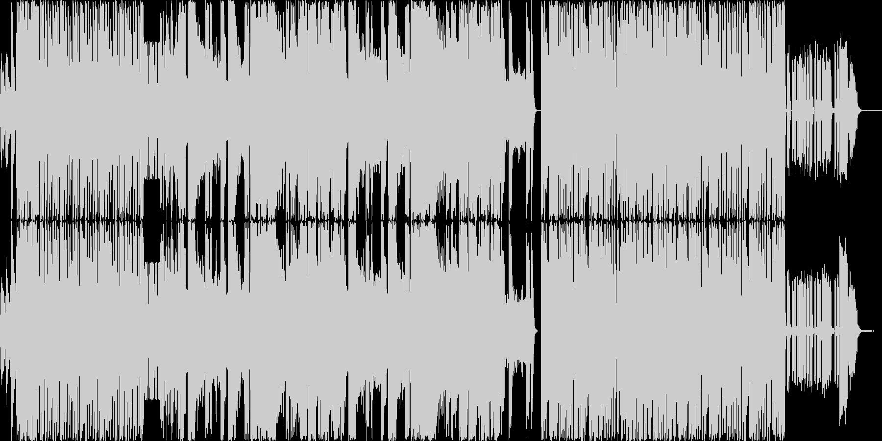 パーティーピープルの為のEDMの未再生の波形