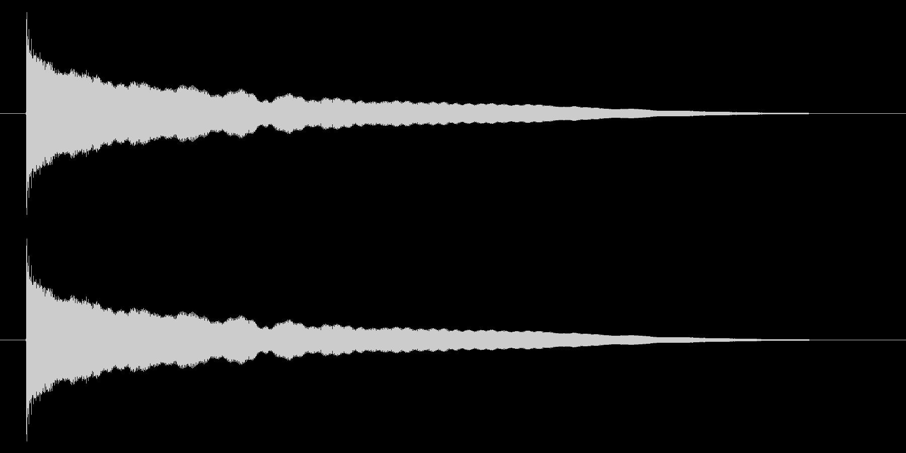 チーン05-1の未再生の波形