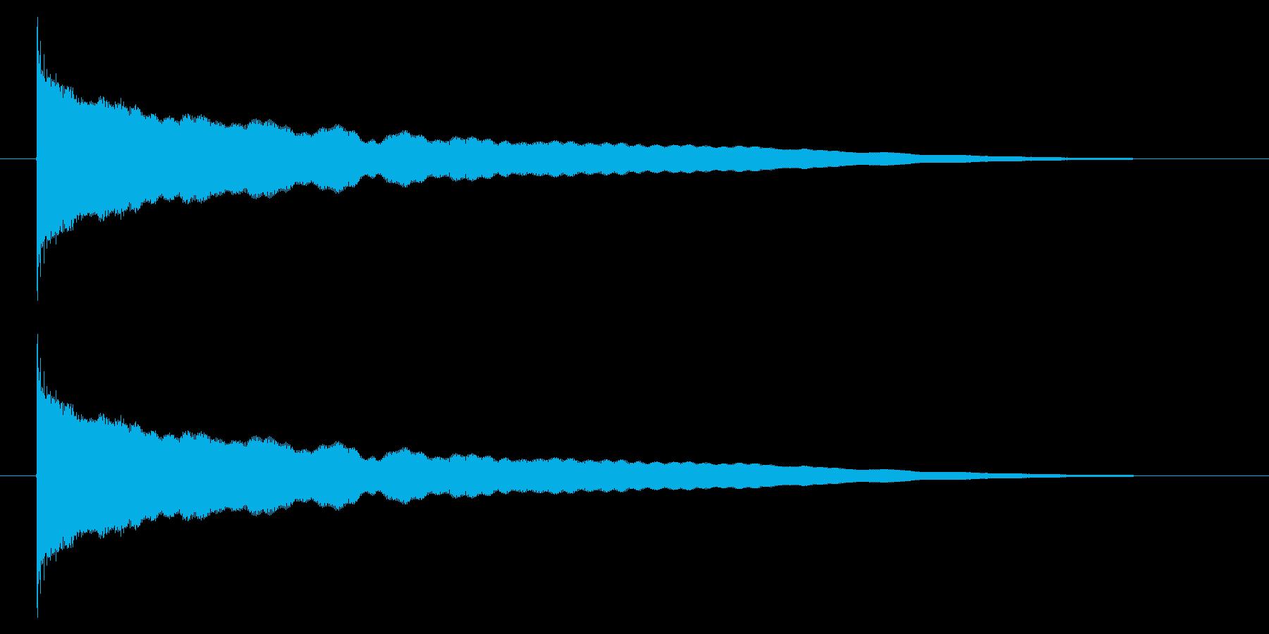 チーン05-1の再生済みの波形