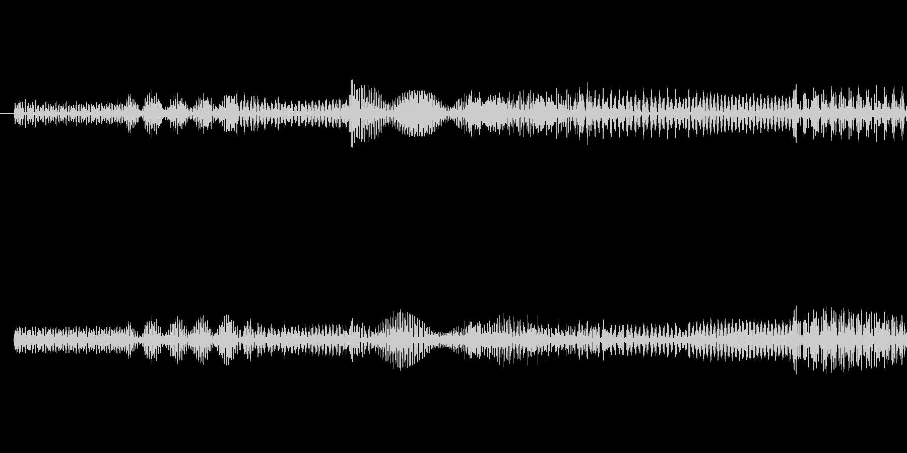 ピポパポ音(ノイズ)の未再生の波形