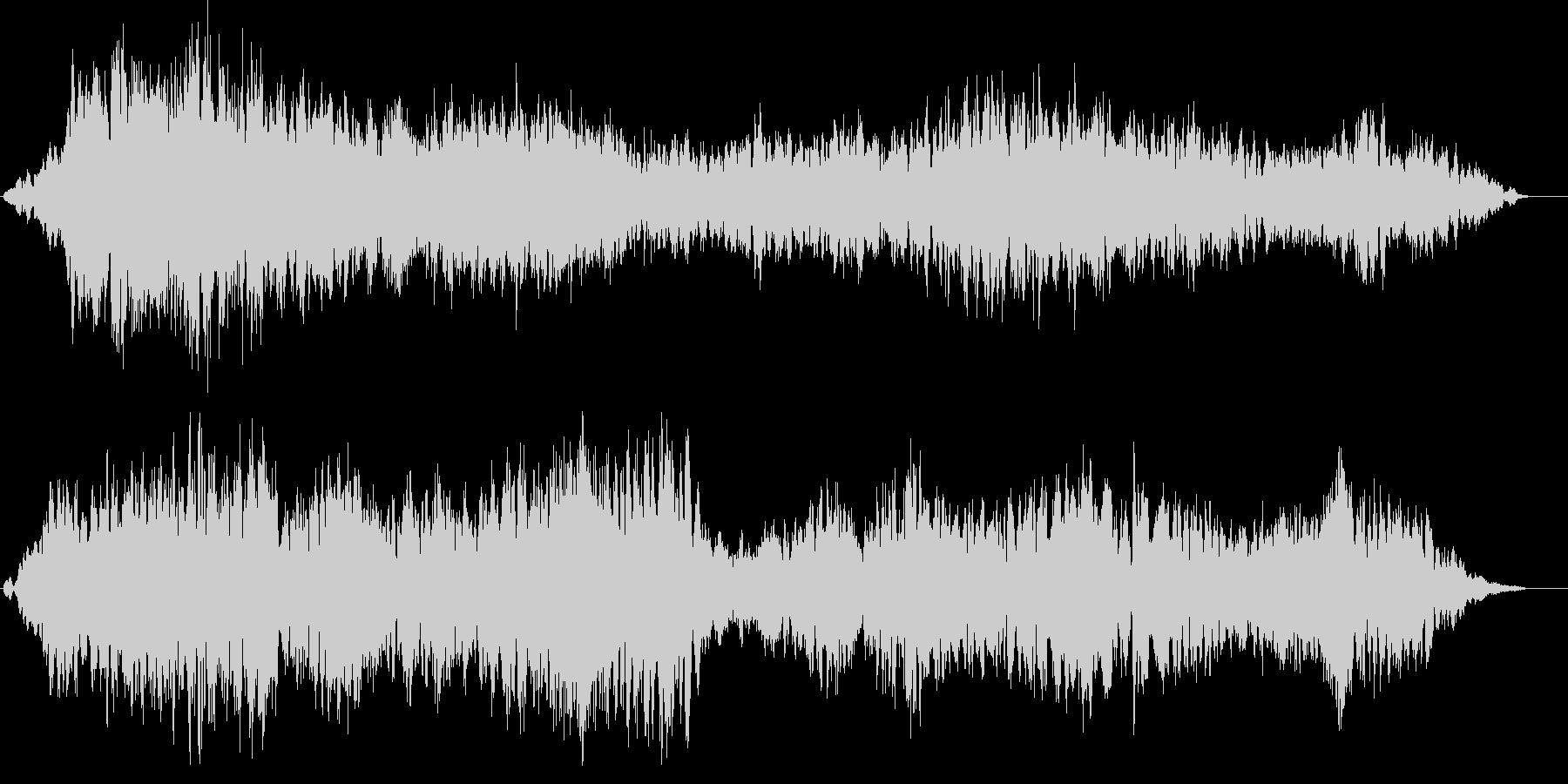 アンビエント ambient 空間 音の未再生の波形