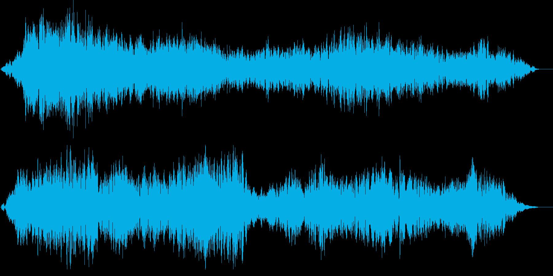 アンビエント ambient 空間 音の再生済みの波形