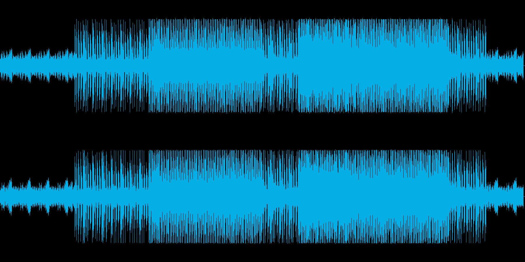 魅惑的なイージーリスニングの再生済みの波形