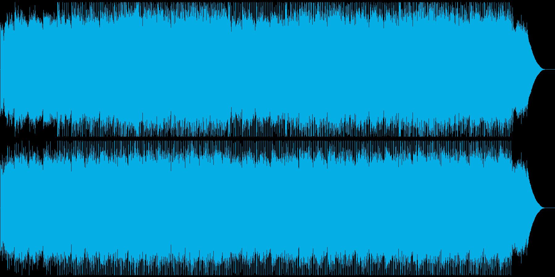 企業VPや映像に 爽やかさ溢れるピアノの再生済みの波形
