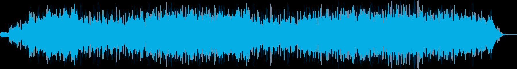 RPGの広大な平原ステージを想定した楽曲の再生済みの波形