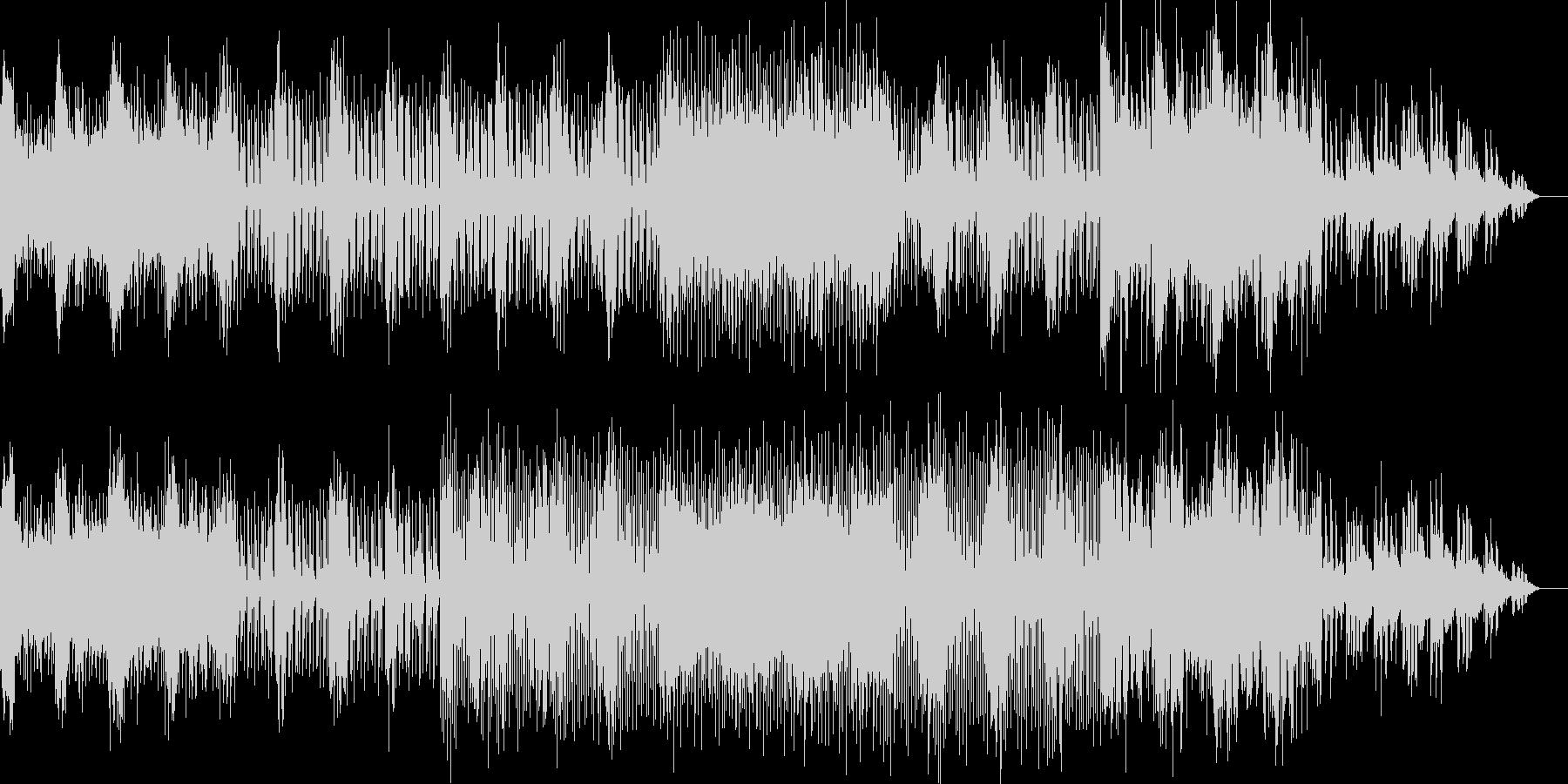 シンプルなオーガニックテクノの未再生の波形