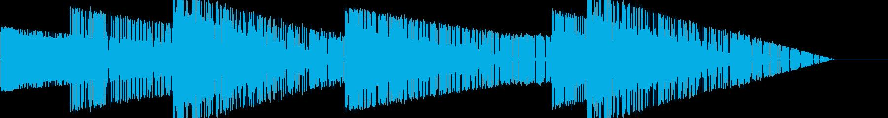 レトロゲーム風魔法・地属性・土系3の再生済みの波形