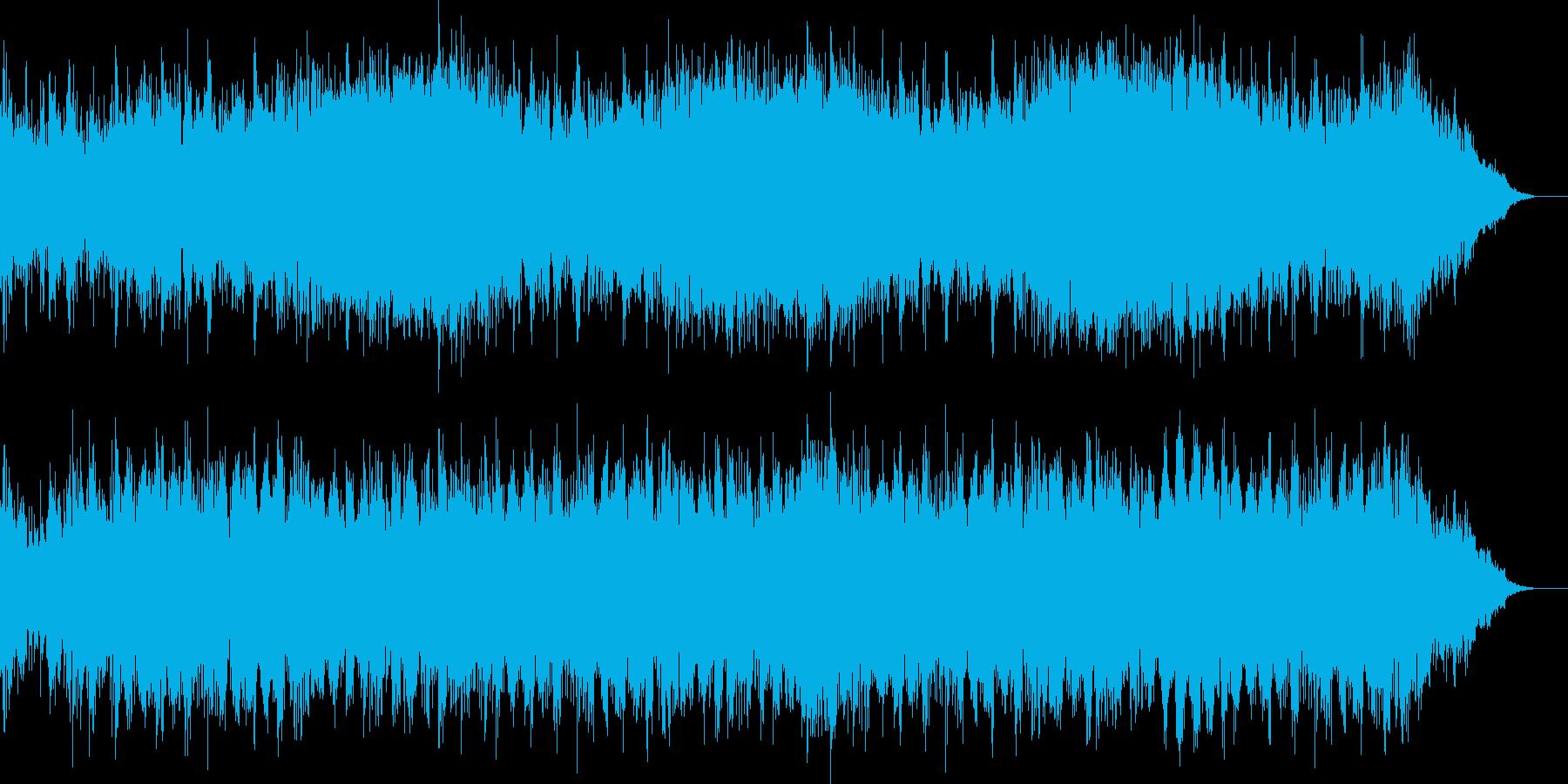 波乱の展開を予感させる緊張感のあるBG…の再生済みの波形