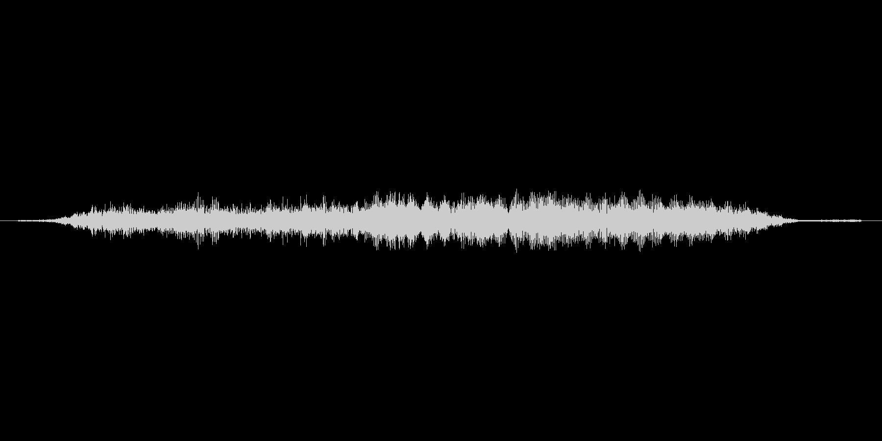 (おばけが威嚇する声)の未再生の波形