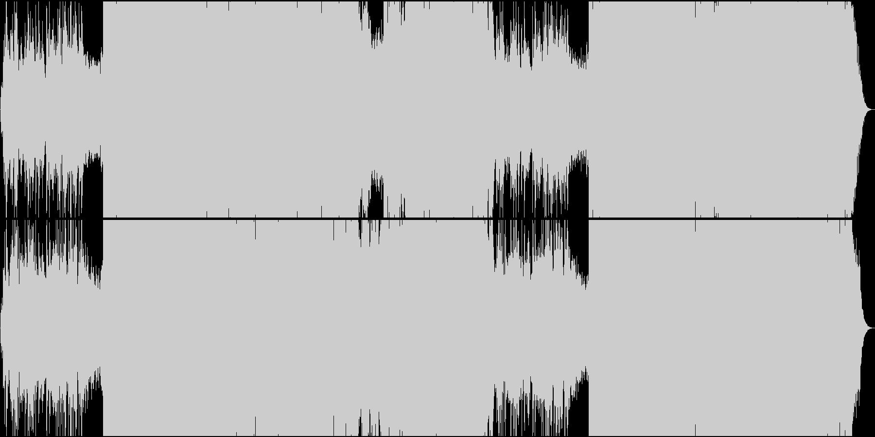 ジュピター/ホルスト トランス系アレンジの未再生の波形