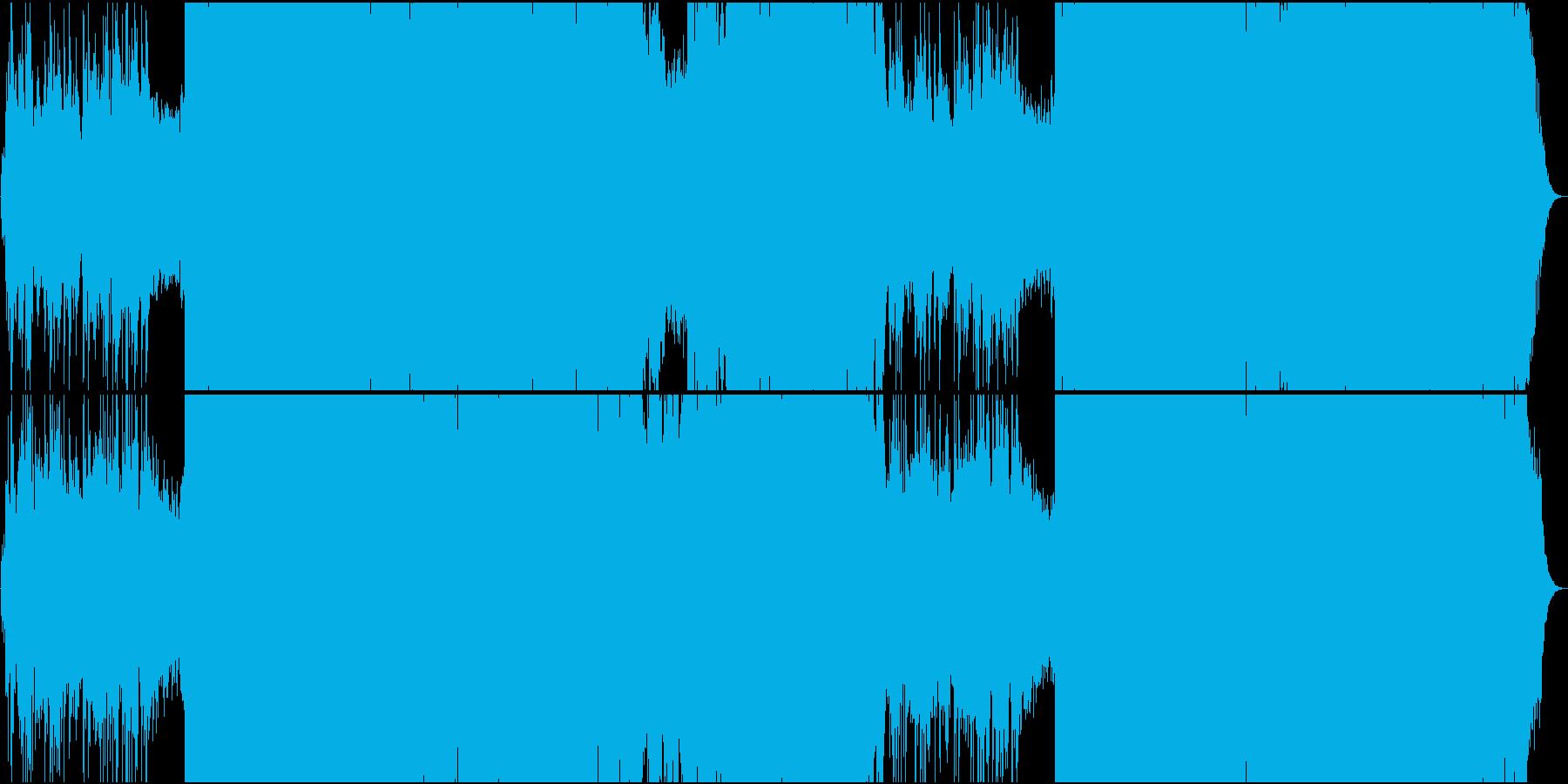 ジュピター/ホルスト トランス系アレンジの再生済みの波形