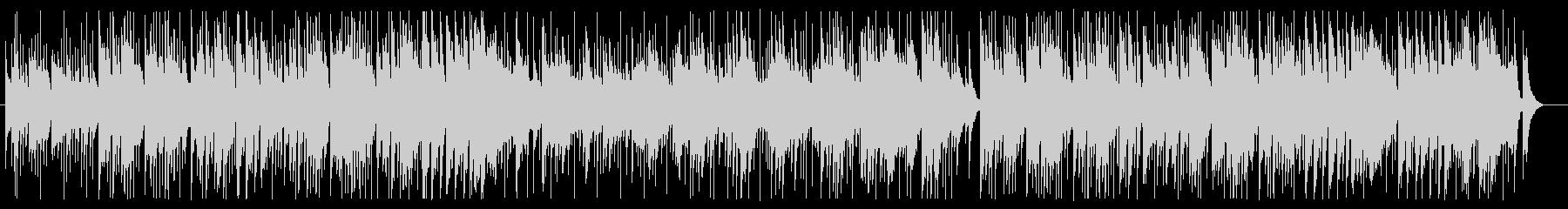 カントリー風ギターシンセサイザー曲の未再生の波形