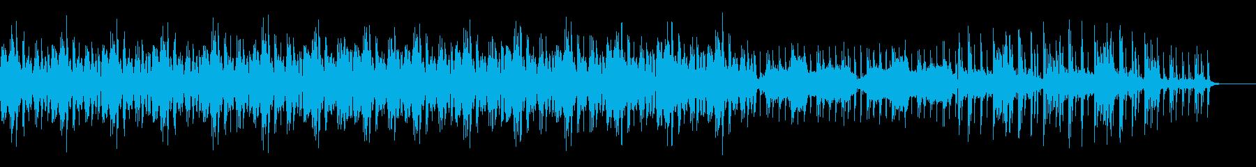 切ない感じのエレクトロニカの再生済みの波形