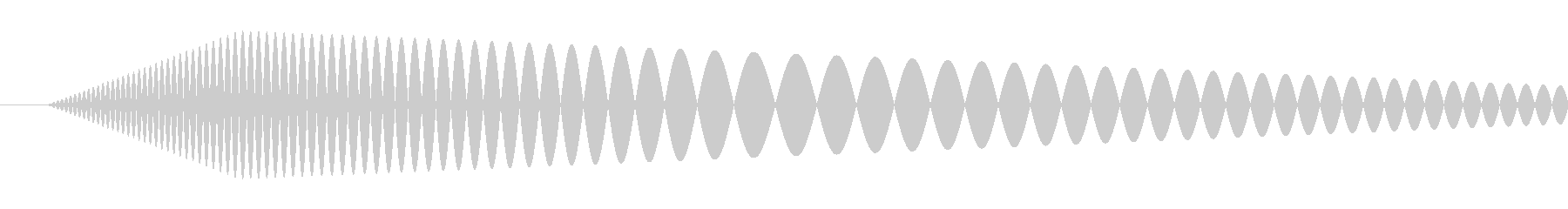 【コミカル】肉球・足音・スタンプの未再生の波形
