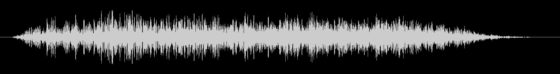 ゴゴゴゴドドドド(土系の音)の未再生の波形