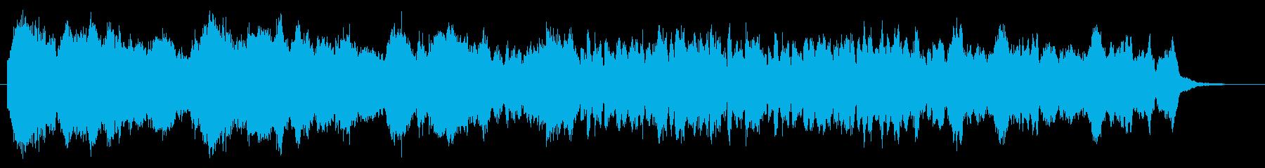ストリングス・情緒的、感動的なシーンにの再生済みの波形