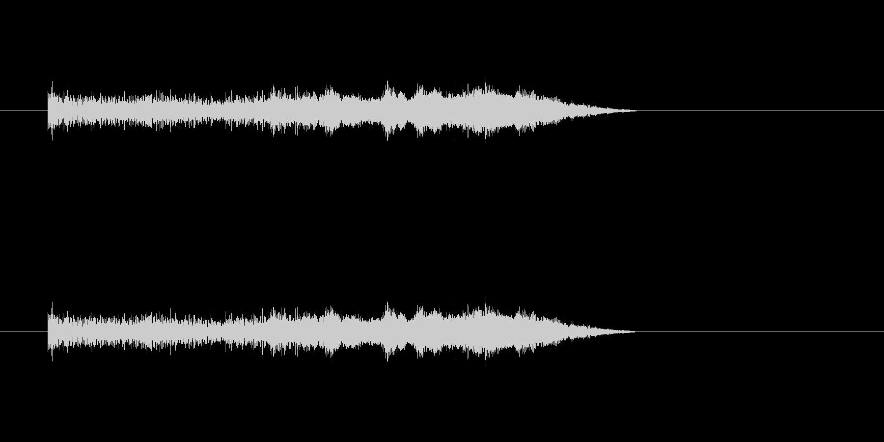 パチンコ大当たりの未再生の波形