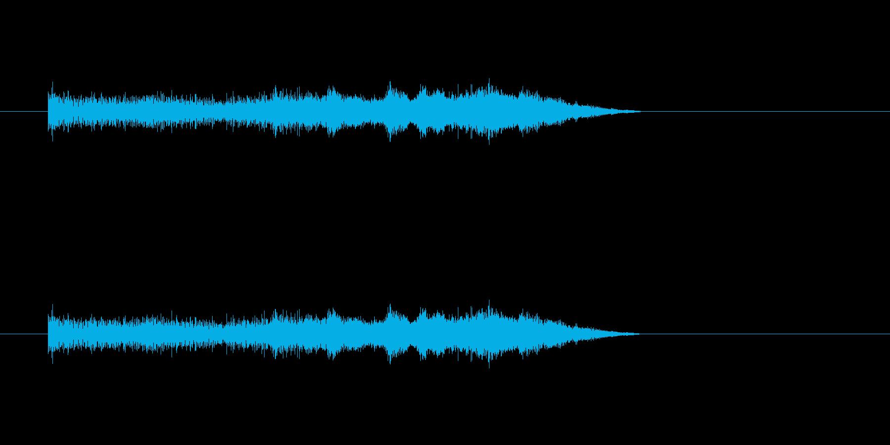 パチンコ大当たりの再生済みの波形
