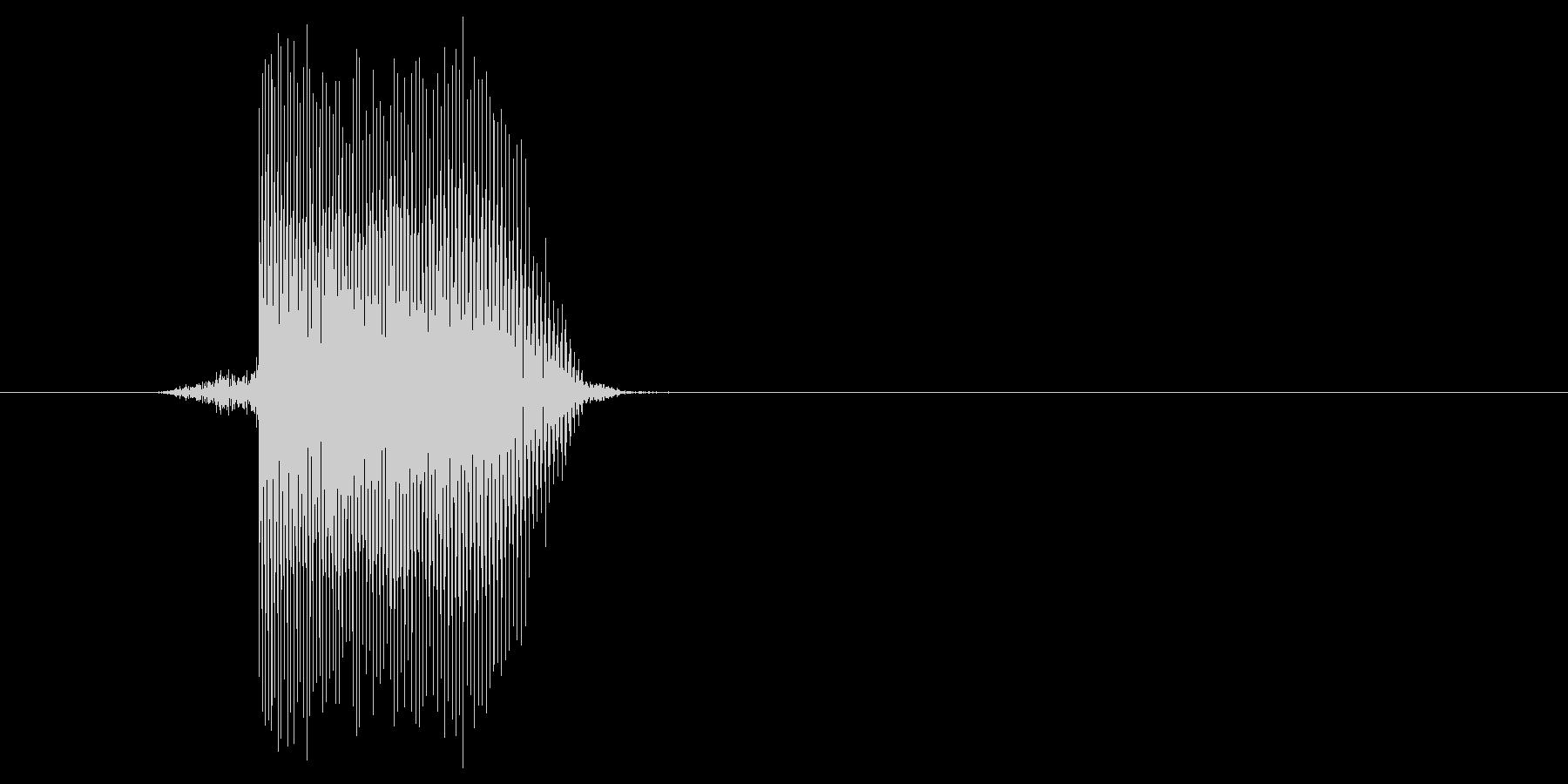 ゲーム(ファミコン風)レーザー音_010の未再生の波形
