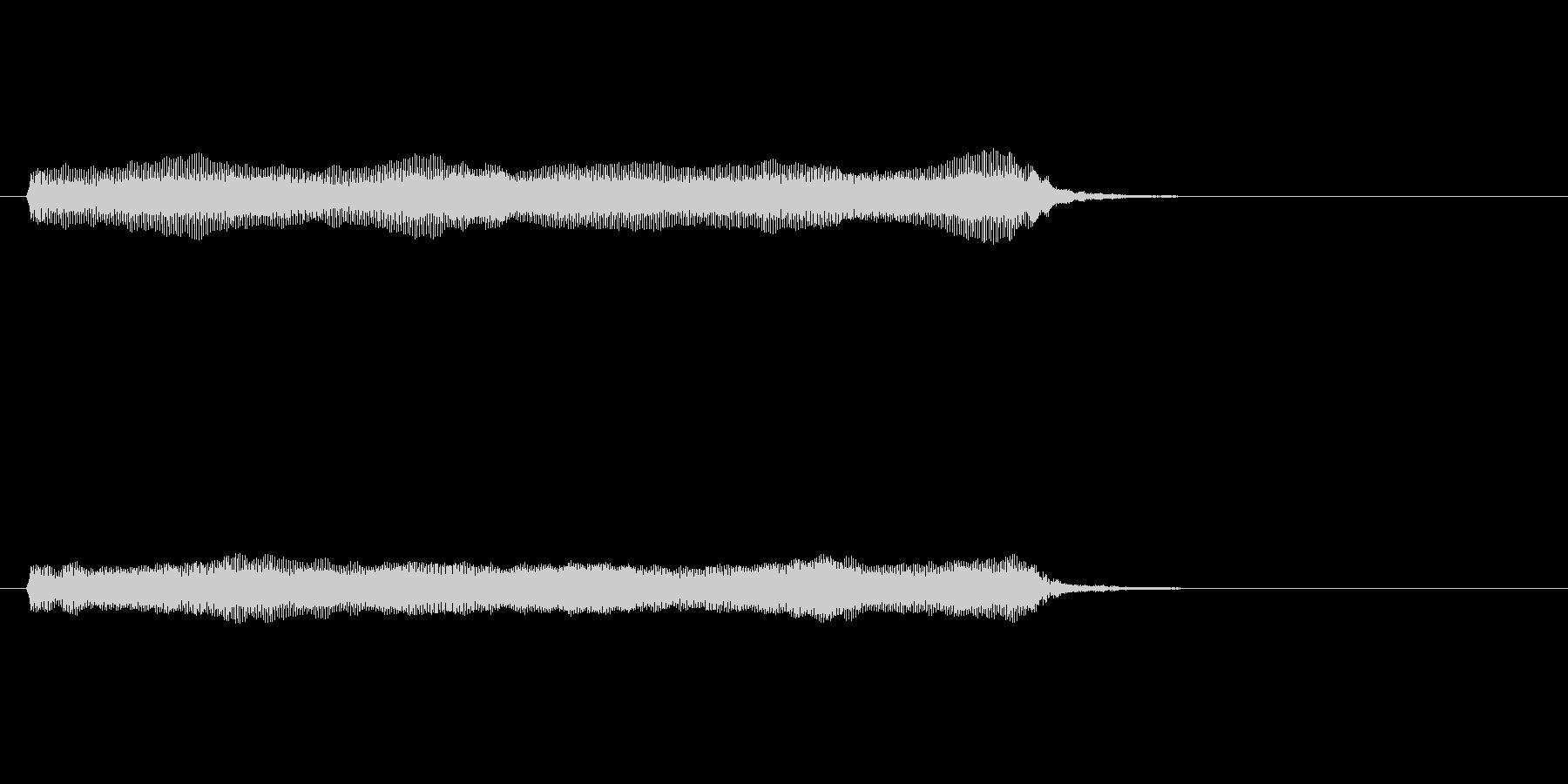 【開演ブザー01-2】の未再生の波形