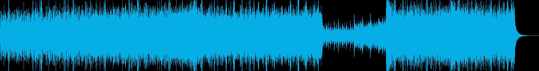 戦闘や走る時の音源の再生済みの波形