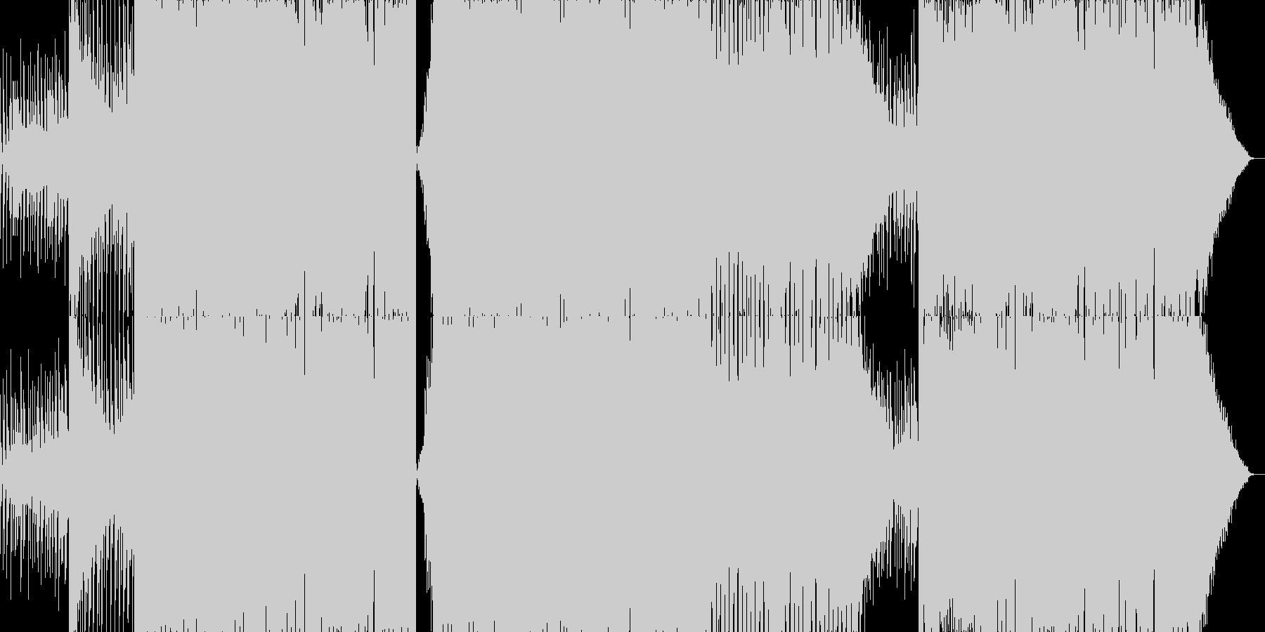 PluckからのEDMワブルサウンドの未再生の波形
